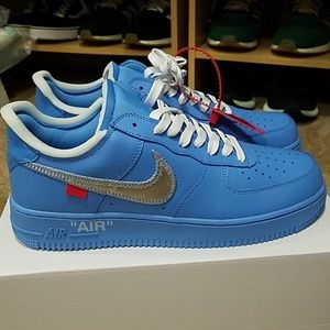 Nike Air Force 1 MCA Off-White Virgil Blue